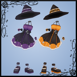 Pangya Halloween Outfit 1 DOWNLOAD by Reseliee