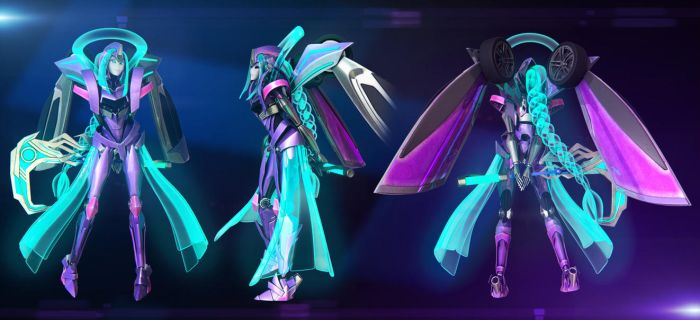 Zodiac Prime Turnaround ( COMMISSION ) by JPL-Animation