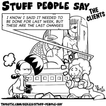 Stuff people say 232 by FlintofMother3
