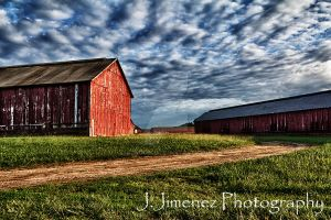 CT Valley Tobacco Barns 1 by JJLouis
