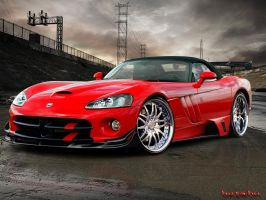 Dodge Viper by blackdoggdesign