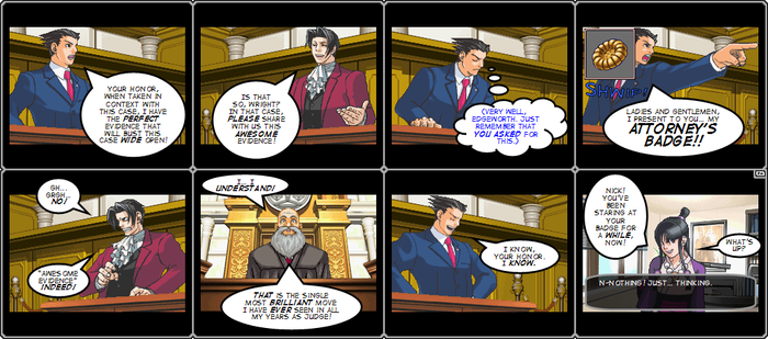 CGOOC107: Phoenix Wright - AA by Captain-Gamer