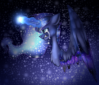 I must ward off the darkness.. (Collab) by randomartist1324