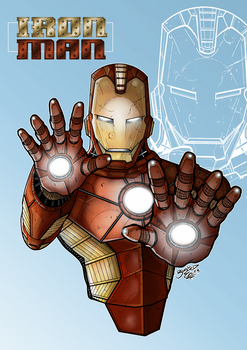 I AM IRON MAN Colors by BouncieD