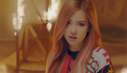 BLACKPINK Playing With Fire Rose by artofiz