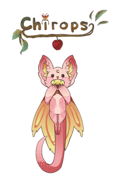 [CLOSED] Chirops - Strawberry Moonlight by NovaAdoptables