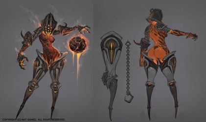 1509_flame sorcerer by alswns3421