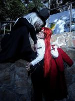 Undertaker and Grell - v by Leuong