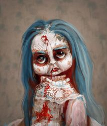 Zombie Doll by RedSaucers