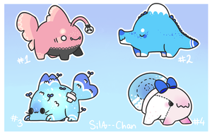 [CLOSED] Sweet adopts by Sila--Chan