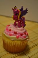 Princess Cadance Cupcake view 1 by Liebatron
