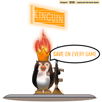 [Contest Entry] Burning Flames Kinguin by Sonikkudrawings