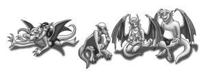 Hatchlings - Commission by DragonessDeanna