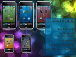 iColorant iPhone theme by version3