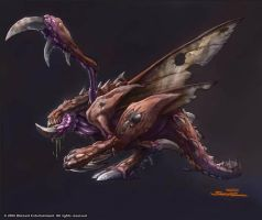 StarCraft - New Zergling Concept by SamwiseDidier