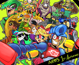 ARMS 1st Anniversary by EZstrongs