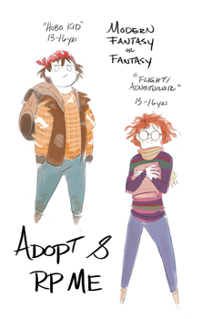 Adopt and Rp Me Kids! by GreekCeltic
