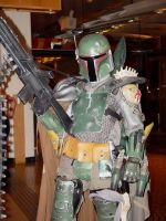 Power Armored Boba Fett I by VynetteDantes
