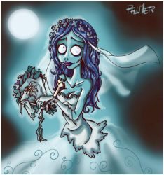 corpse bride by lpspalmer