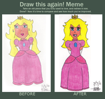 Peach Before and After by dancefever92