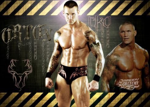 Randy Orton Wallpaper...WWE by Gogeta126