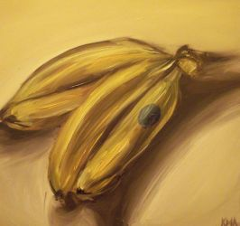 Still Life with Bananas by notkristina