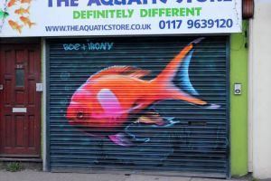 North Street Fish. Bristol by Boe-art