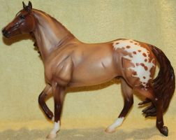 Breyer-BreyerFest Volunteer Model -Parfait -Stock by Lovely-DreamCatcher