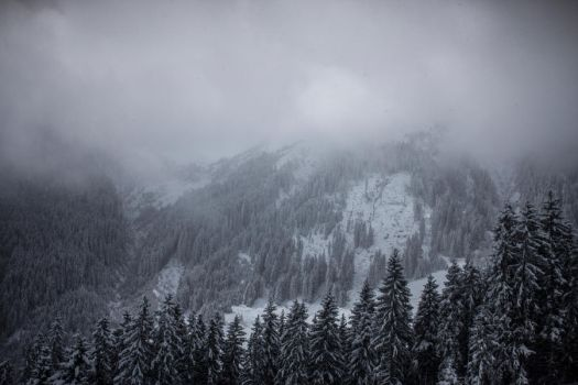 Empty Spaces of Alps by pelleron