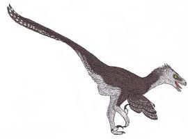 Saurornitholestes langstoni by TheMorlock