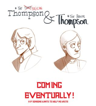 Thompson and Thompson by StolenKey