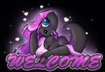 Welcome To My Page ::Gif:: by xJen-Jenx