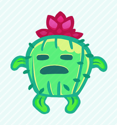 Cacturia(open for animation) by Kna