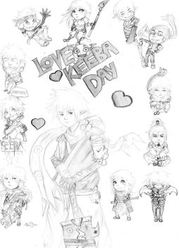 LOVE KEEBA DAY by Tsuchi-R