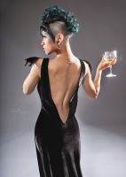 Birds of Prey Collection - Wine Glass by dsa157