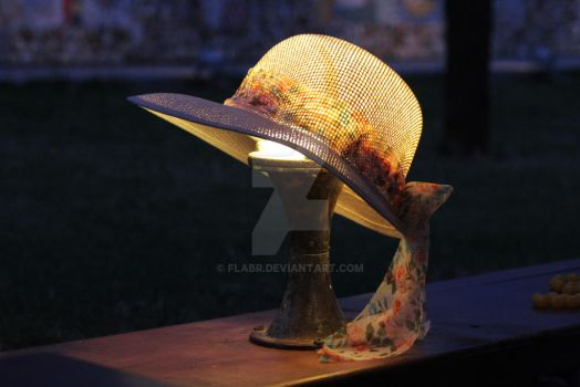 Hat Over Lamp by flabr