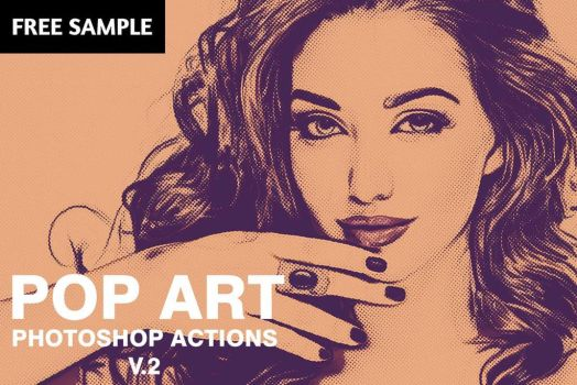 Pop Art Free Photoshop Actions V2 by symufa