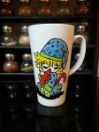 Bedtime Wizard and Snuggling Kitten Coffee/Tea Mug by UniqueDesignByMonica