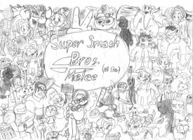 Super Smash Bros. Melee by Altair01