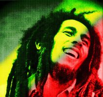 Tribute to Bob Marley by exiled666