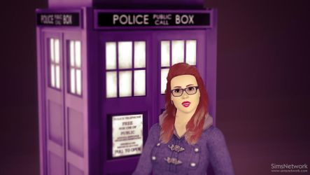 Rosie and the TARDIS #1 by snwgames