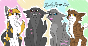 Thunderclan Medicine Cat Gals by bestsk8eva