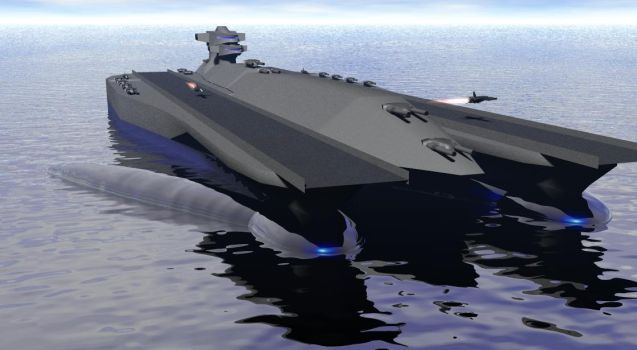 Leckie Class carrier by ex-pacifist