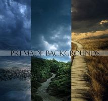 Memories Premade Backgrounds by AndreeaRosse