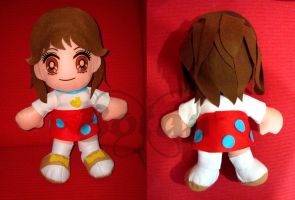 Yaeko Mitamura plush version by Momoiro-Botan
