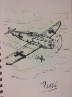 DAY 08 - Plane by Art-by-Evan