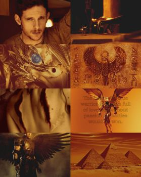 Aesthetic Horus by Claire-White-Shadow