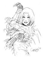 Witchblade Sketch 08 by Arciah