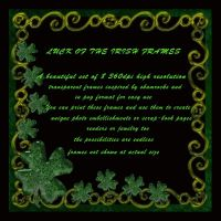 Luck of the Irish frames, by MBDS (exclusive) by FantasiesRealmMarket