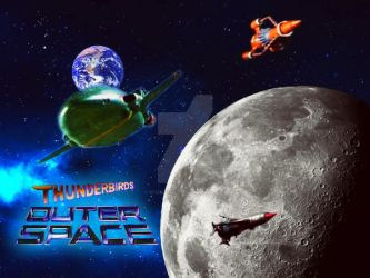 Thunderbirds in Outer Space. by stick-man-11